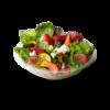 Spinach Salad with Fresh Raspberry Vinaigrette